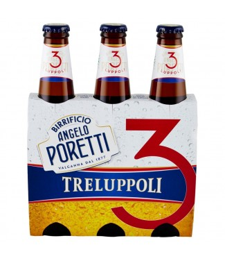 Birrificio Angelo Poretti 3 Luppoli 3 x 33 Cl