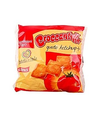 Croccantelle Ketchup Multipack